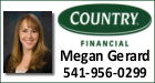 Megan Gerard from Country Financial